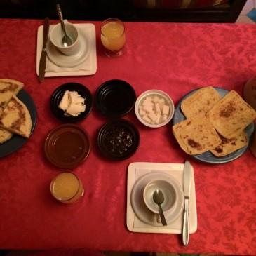 朝食の時間/モロッコ