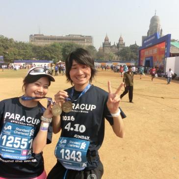 Japan Givingに挑戦!「パリ、バルセロナ、ウィーン、デュッセルドルフマラソンに夫婦揃ってベストを尽くして挑みます!」寄付先「PARACUP」