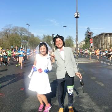 パリマラソン完走!結婚式のような1日(Risa編)