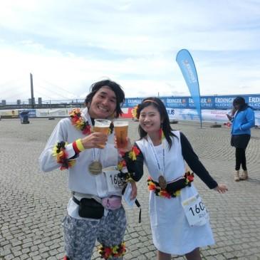 デュッセルドルフマラソン完走(Risa編)レポート