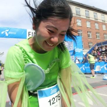 ギリギリ走ったコペンハーゲンマラソン。(Risa)