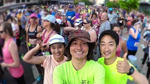 アメリカ、NY州バッファローマラソン(レポート)