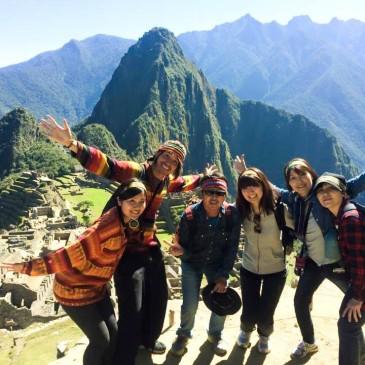 【両親・親戚と ハネムーンマラソン  in Peru】