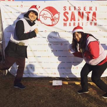 聖蹟サンタマラソンのスタッフに参加しました☆