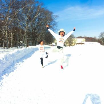 北海道スノーマラソンは、本当にスノーマラソンでした^^