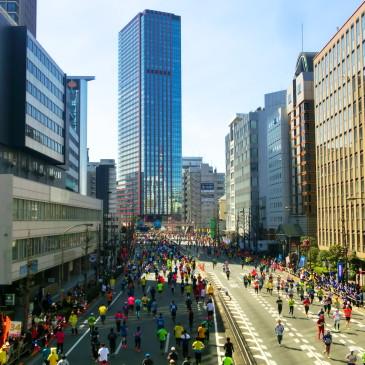 東京マラソンは一年に一回だけど、3万6千通りの物語があるのです