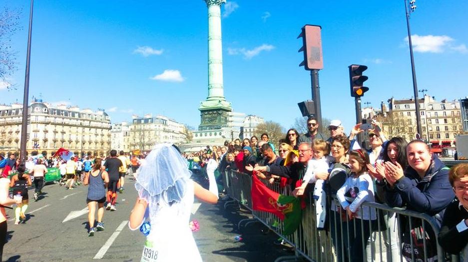 半年間で世界13カ国のマラソン完走への挑戦 @パリマラソン