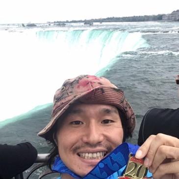 【ナイアガラの滝マラソン+気分は仕事+実は旅行】